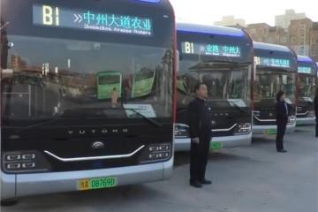 郑州全新智能公交车开端运营具有无人驾驶和语音操控功用
