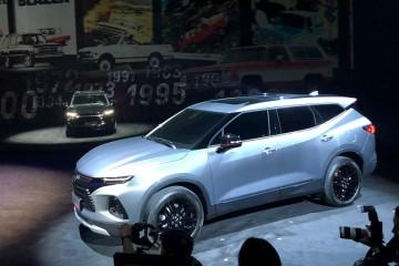 7座中大型SUV雪佛兰开拓者或于3月上市
