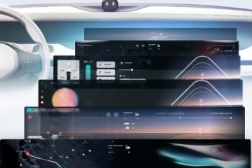 装备横直三联大屏蔚来下一代内饰中控烘托图曝光