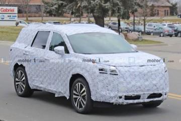 对标途昂日产中大型SUVPathfinder或国产